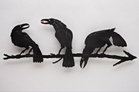 Crow Wall Pieces